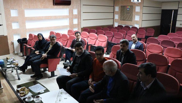 جلسه بررسی احداث پارک پزشک با حضور نمایندگان محترم شورای اسلامی شهرکرد و شهرداری